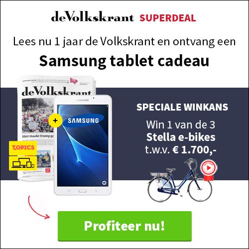 Samsung Tablet A7 cadeau bij VK