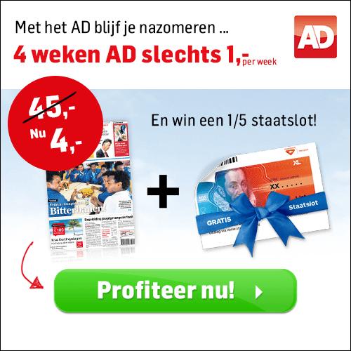 Bijna gratis: het ad lezen voor 4 euro