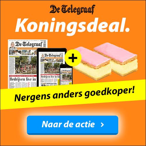 Koningsdeal Telegraaf