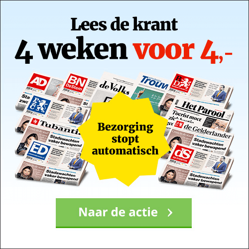 BN DeStem aanbieding de krant voor 4 euro