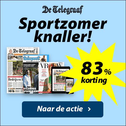 Volg de sportzomer op de voet met De Telegraaf