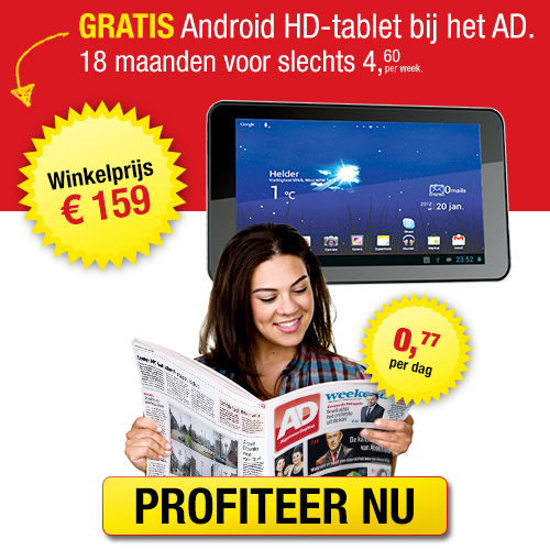 empire tablet kado bij AD (Android)