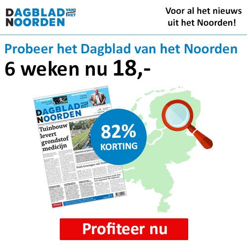 Dagblad van het Noorden 6 weken goedkoop testen