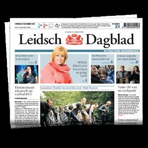 leidsch dagblad voorpagina