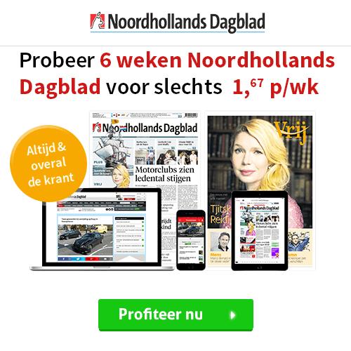 noord-hollands dagblad voor een tientje in huis