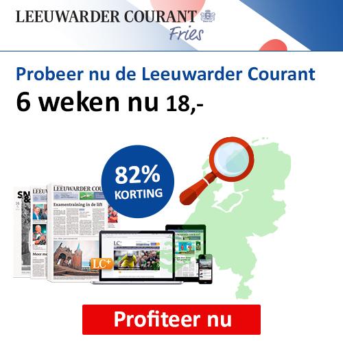 Leeuwarder Courant 6 weken proberen