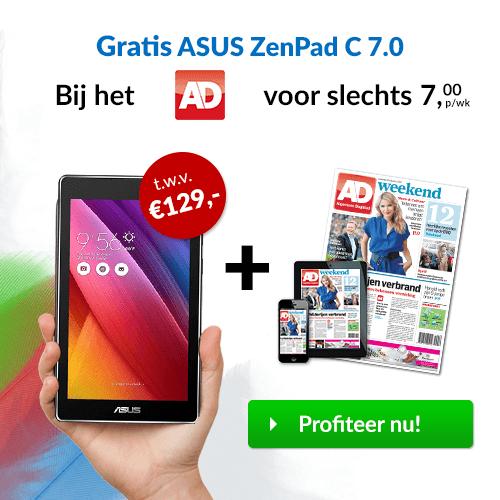 Bij AD een Asus ZenPad cadeau