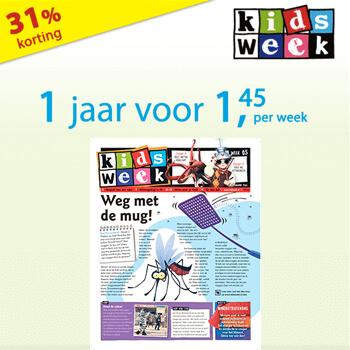 kidsweek jaarabonnement