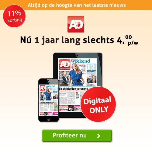 De AD elke dag digitaal lezen