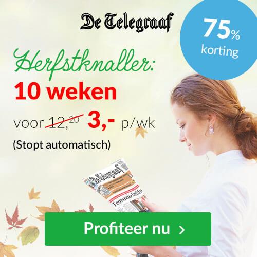 herfstknaller Telegraaf