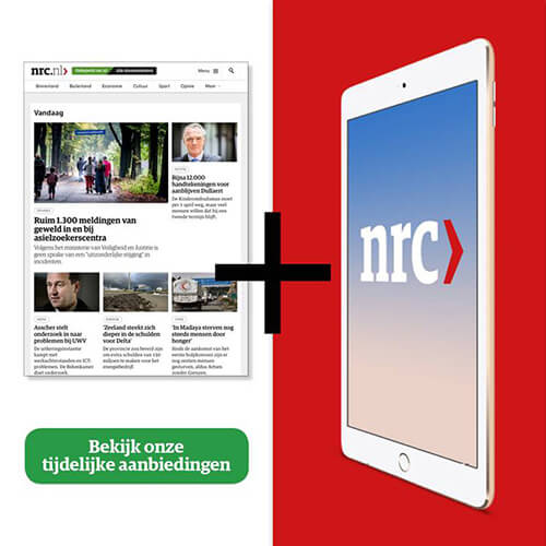 ipad abonnement NRC