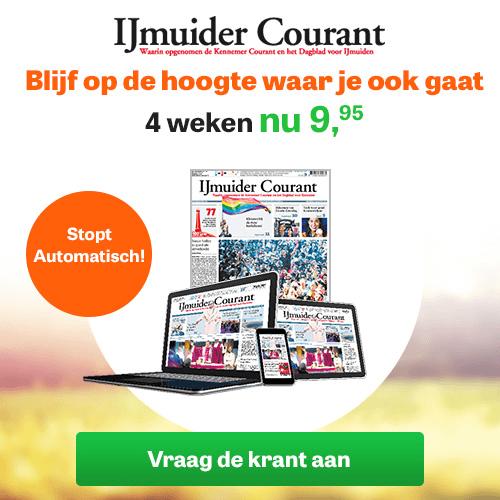 4 weken IJmuider Courant proberen