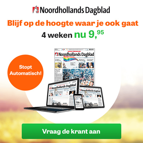 4 weken NoordHollands Dagblad proberen