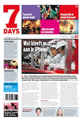 7 Days (voorpagina front cover)