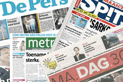 gratis krant (vier totaal)