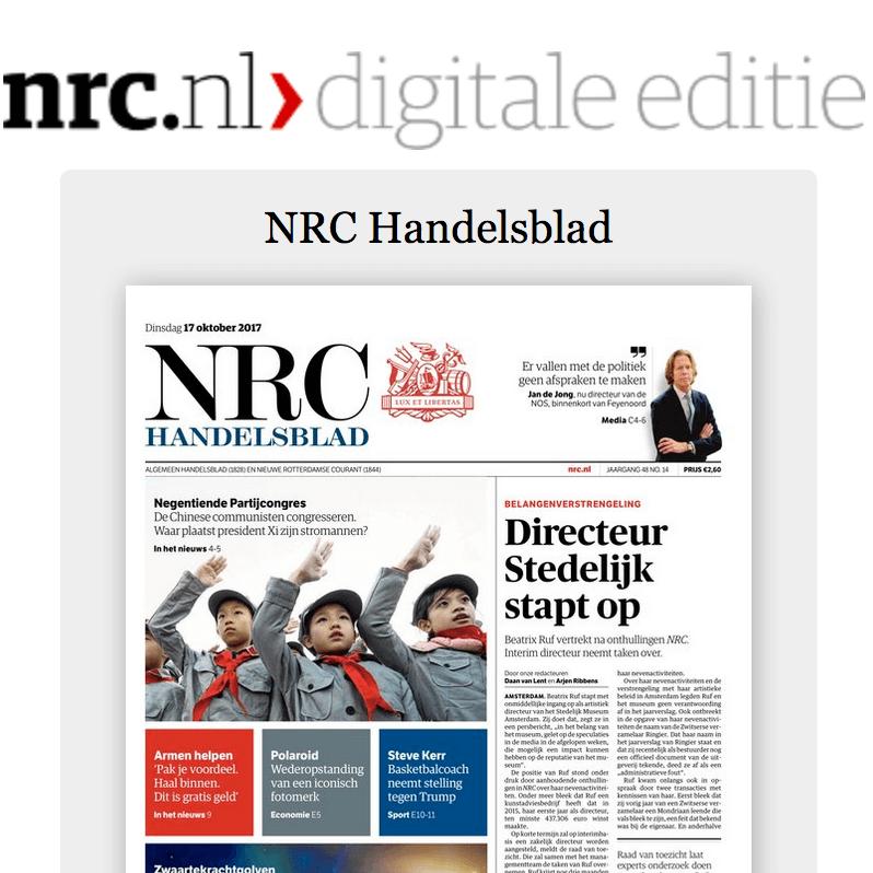 NRC Digitaal abonnement