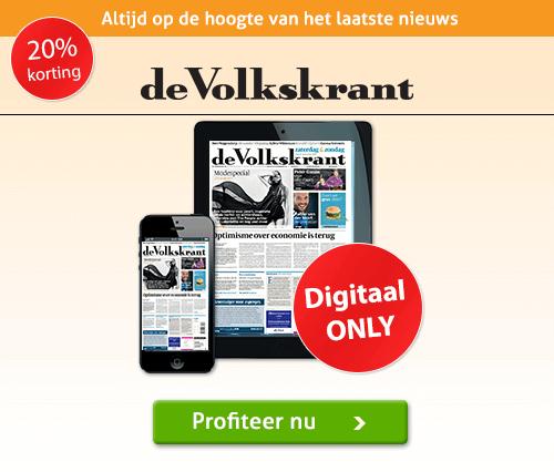 De Volkskrant elke dag digitaal lezen