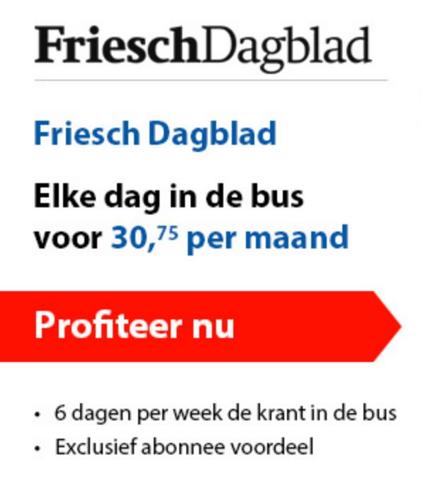 Friesch dagblad compleet