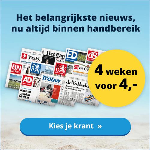 4 weken 4 euro actie Gelderlander