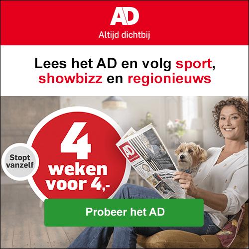 AD actie 4 weken 4 euro met boek kado