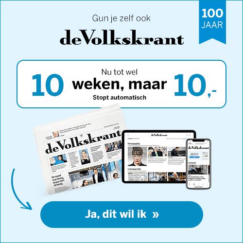 Volkskrant 10 weken 10 euro