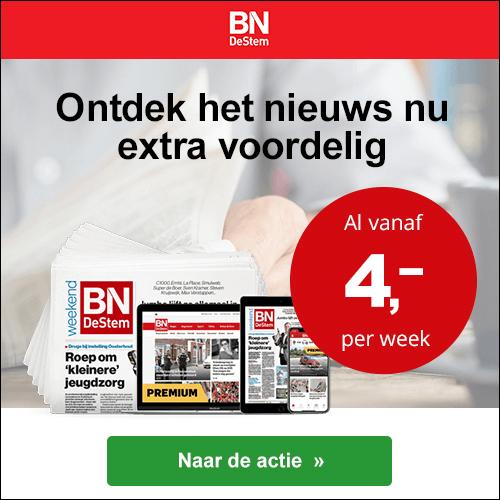 BN De Stem zaterdag weekend kortingsactie