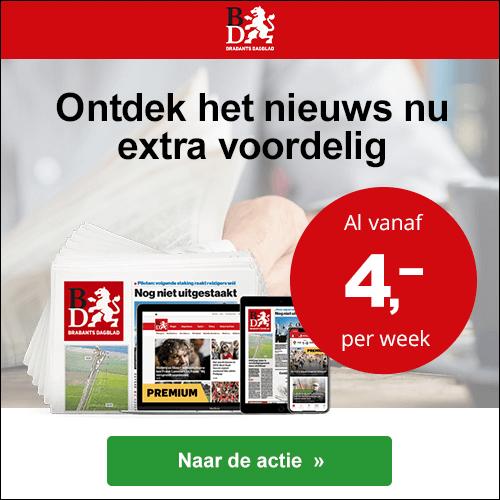 Brabants Dagblad zaterdag weekend kortingsactie