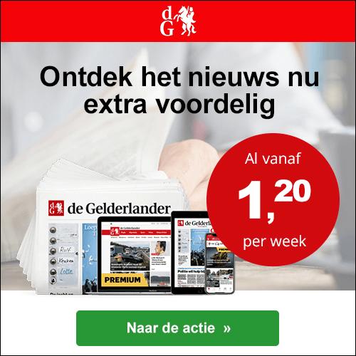 de gelderlander digitaal basis kortingsactie