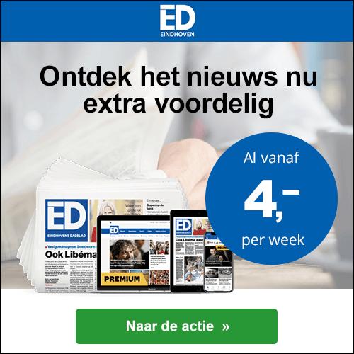Eindhovens Dagblad zaterdag weekend kortingsactie