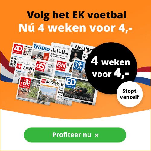 Volkskrant aanbieding 4 euro