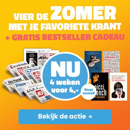 Trouw met bestseller kado - 4 weken 4 euro actie